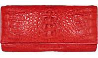 Сумка-клатч из кожи крокодила FCM 215 Fire red