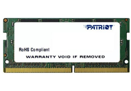 Модуль памяти SO-DIMM DDR4 8GB 2400MHz Patriot (PSD48G240081S) .