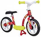 Детский беговел металлический с подножкой Smoby 770123 велобег для детей, фото 3