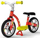 Детский беговел металлический с подножкой Smoby 770123 велобег для детей, фото 4