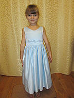 Легкое голубое платье на прокат в Харькове