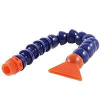 Трубка шарнирная гибкая для подачи СОЖ G1/4 450мм (плоская)