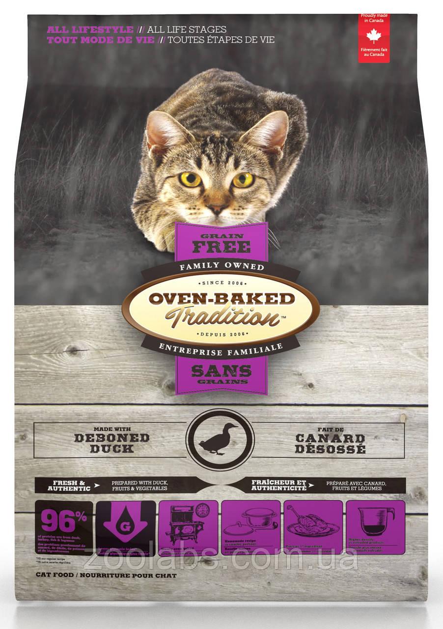 Корм Oven Baked Tradition для кішок з качкою | Oven Baked Tradition Cat Grain Free Duck 1,13 кг