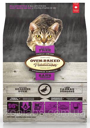Корм Oven Baked Tradition для кішок з качкою | Oven Baked Tradition Cat Grain Free Duck 1,13 кг, фото 2