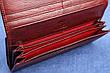 Женский женский кожаный кошелек Kochi темно бордовый 807 DR, фото 2