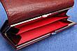 Женский женский кожаный кошелек Kochi темно бордовый 807 DR, фото 6