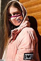 """Детская многоразовая маска с шевроном """"Единорог"""""""