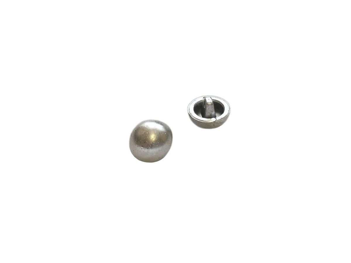 Пуговицы ПА - 610 д-р 12мм серебро