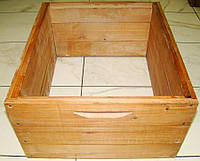 Корпус для улья на 10 рамок Рута 230 мм (липа) проваренный в раст масле с фальцами