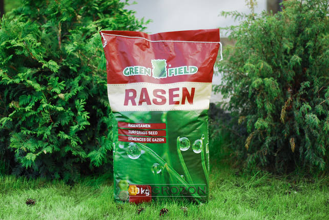 Газонная трава Greenfield Медленно растущий (Niedrigwachsender) - 10 кг, фото 2