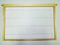 Рамка Дадан сбитая (435х300) сосна, еврозамок, втулки, проволока н/ж