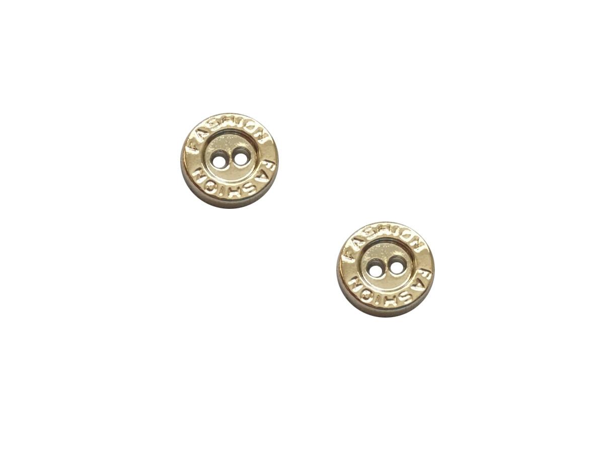 Пуговицы ПА - 659 Fashion д-р 12мм золото