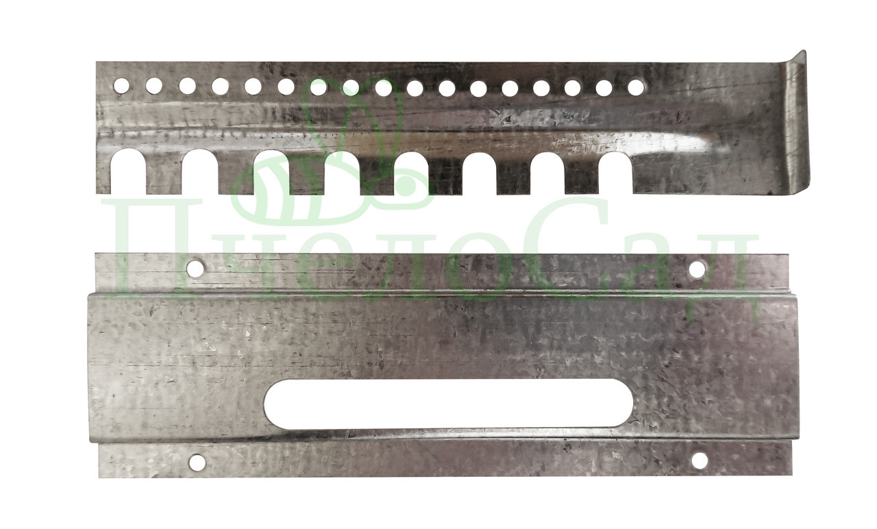 Летковый заградитель оцинк. 2-х элементный верхний
