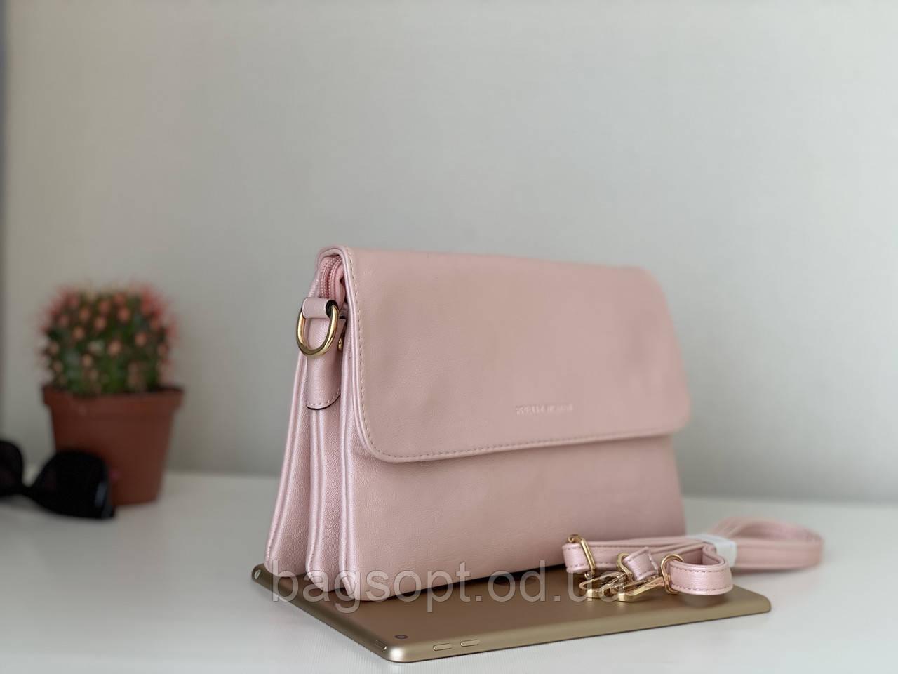 Жіноча сумочка через плече клатч рожевий колір Pretty Woman Одеса 7 км