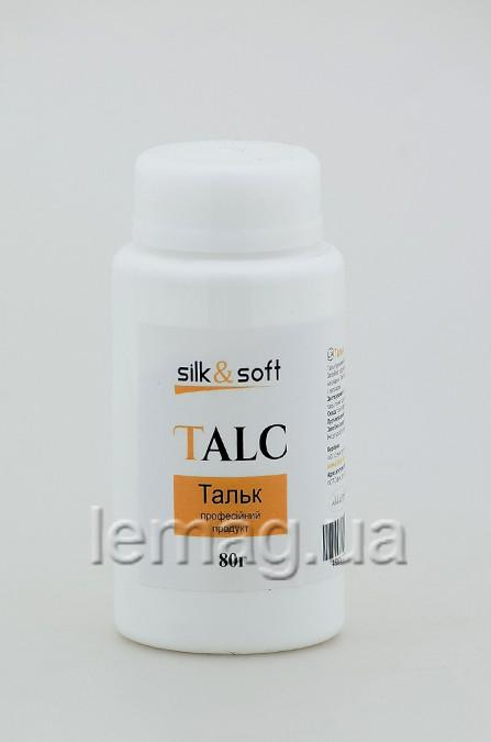 Silk&Soft ТАЛЬК, 80 г