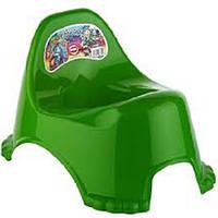 Горшок п/э детский Elif зеленый