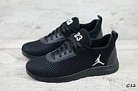 Мужские кроссовки Jordan сетка, фото 1