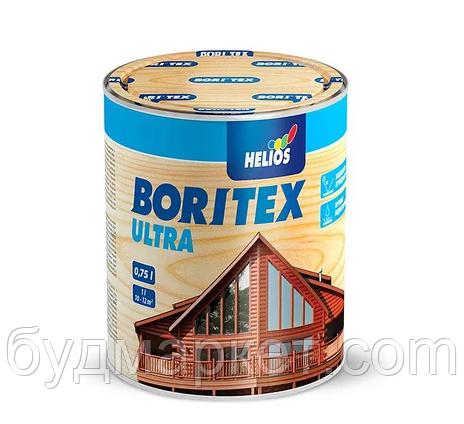 Лазурь Helios BORITEX ULTRA 13 белая 0.75 л