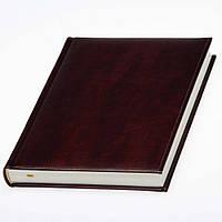 Ежедневник Небраска датированный, кремовый блок, коричневый