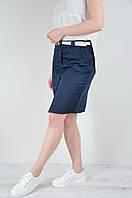 Стильная летняя коттоновая юбка в спортивном стиле MEES Турция