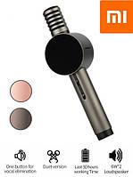 Беспроводной Караоке микрофон Xiaomi X3 HoHo Sound, Микрофон с колонкой, Чорный