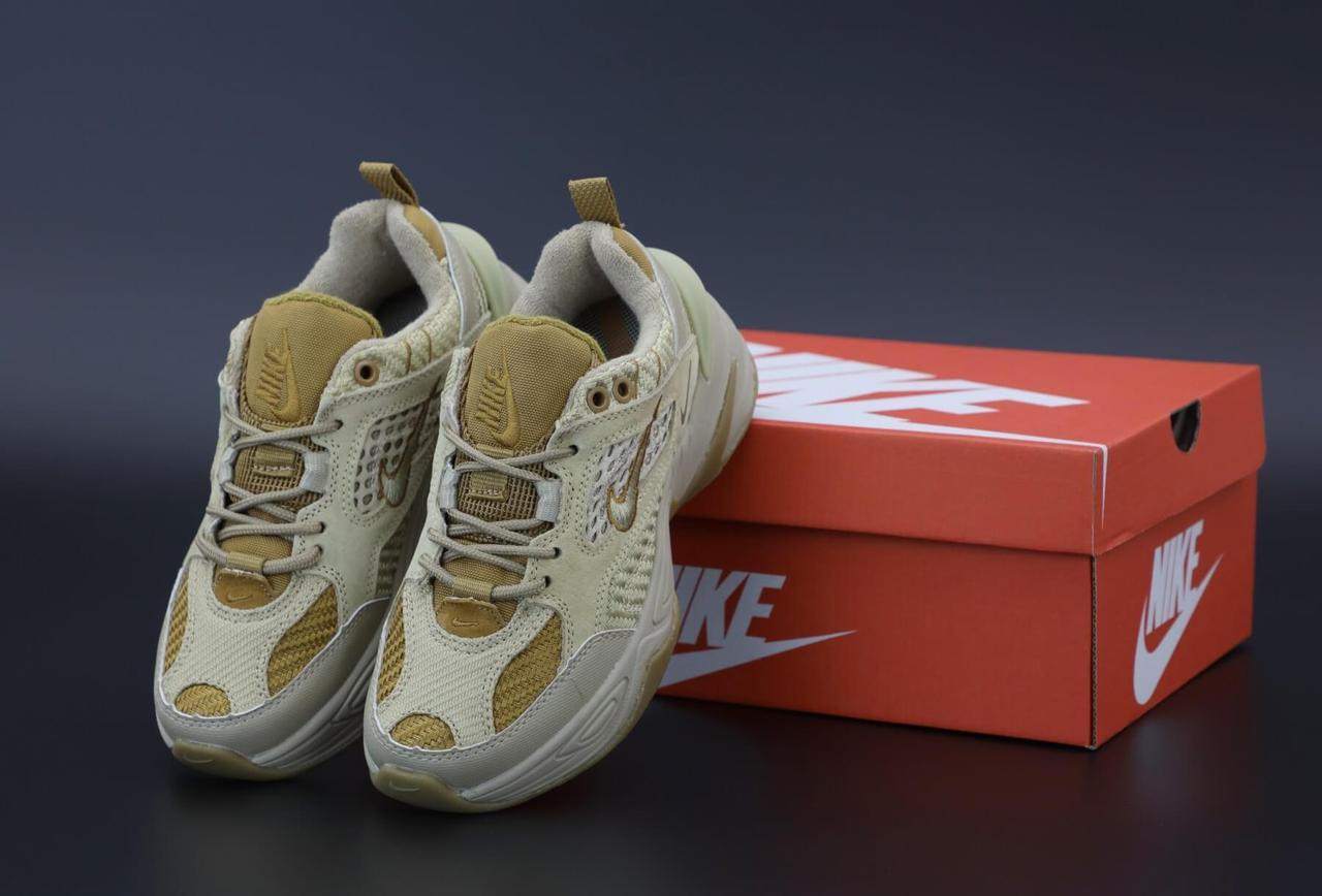 Женские кроссовки Nike M2K Tekno Grey Brown