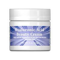 Крем для кожи с гиалуроновой кислотой Puritan's Pride Hyaluronic Acid Beauty Cream 113 грамм