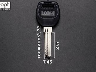 LOCK заготовка ключа