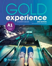 Учебник Gold Experience 2nd Edition A1 Student's Book / Pearson