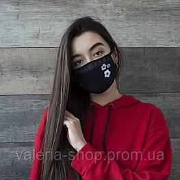 Женские Защитные многоразовые маски для лица. Разные принты, есть опт