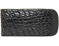 Зажим для купюр из кожи крокодила NTAM 01 Black