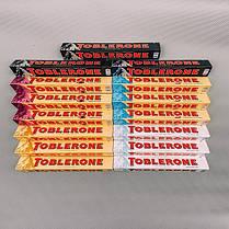 Швейцарский черный шоколад Toblerone 5 вкусов в ассортименте 100г