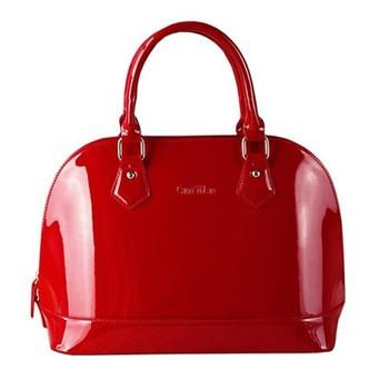 Женская стильная лаковая сумка. Модель 462
