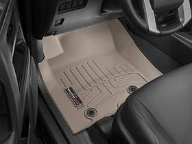 Килими гумові WeatherTech Lexus GX 2014+ передні бежеві