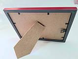Рамка для фото 13*18см, цвет малиновый, фото 2