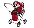 Коляска трансформер 9391 - коляска-трость для куклы, фото 2