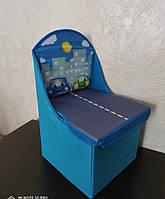 Детский стульчик - органайзер для хранения игрушек