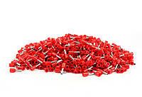 Набор TDM гильзовый наконечников 1000шт красных E2508 14AWG 2.5mm²