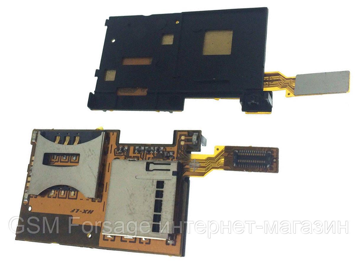 Шлейф Sony Ericsson K770 SIM + mmC