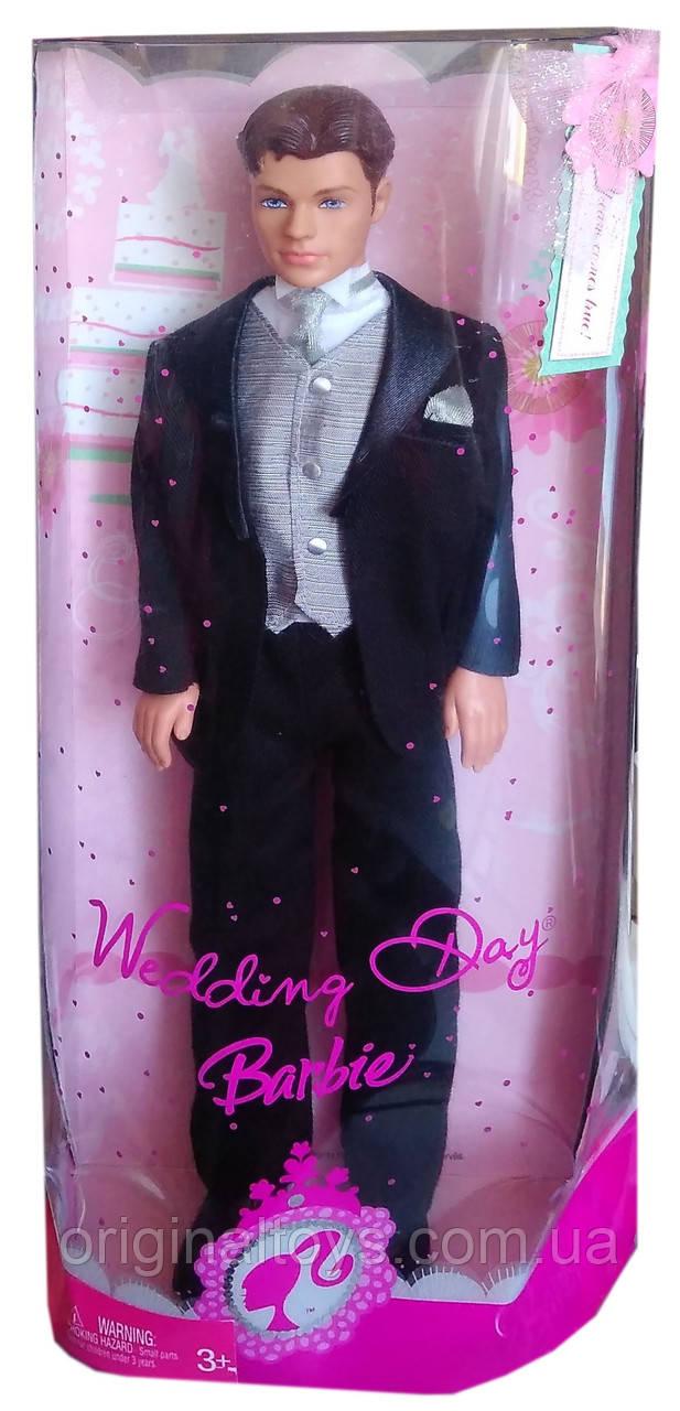 Коллекционная кукла Кен Жених День свадьбы Барби Ken Groom Wedding Day Barbie 2007 Mattel