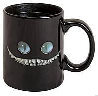 Чашка хамелеон 300 мл меняет цвет Чеширский кот