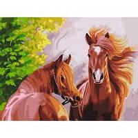 Картины по номерам в ассортименте 40 * 50 см на холсте акриловые краски кисти картина за номерами