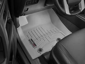 Ковры резиновые WeatherTech Toyota LC150 2014-2018  передние серые