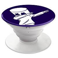 Попсокет (Popsockets) держатель для смартфона Marshmello Fortnite  (8754-1330)