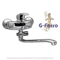 Смеситель для ванны с душем G-FERRO FRANK 006