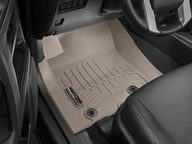 Ковры резиновые WeatherTech Toyota LC150 2014-2018  передние бежевые