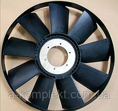 Вентилятор КАМАЗ (пласт.) d=660 мм.