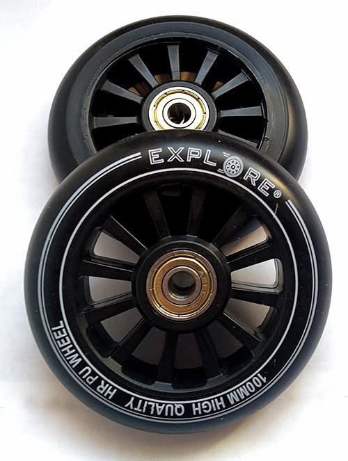 Колеса для трюковых самокатов Scooter Wheel 100 мм с подшипниками