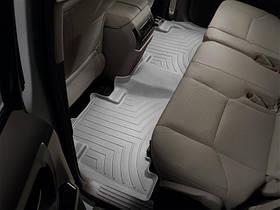 Ковры резиновые WeatherTech Toyota LC150 2009+  задние серые