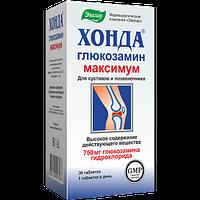 Евалар Хонда глюкозамін максимум 750мг.глюкозаміну гідрохлориду 30табл.